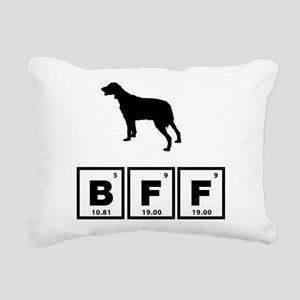 Brittany Spaniel Rectangular Canvas Pillow